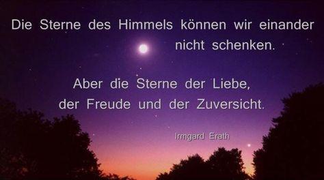 Die Sterne am Himmel