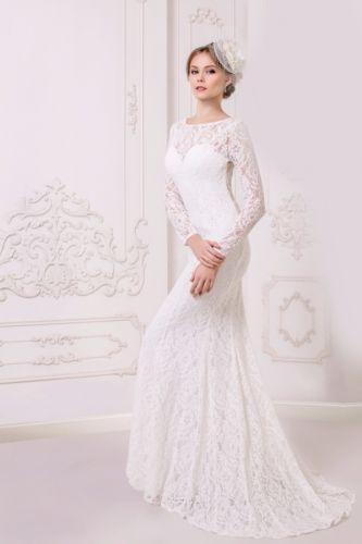 New Lace Wedding Dress Size 8 Ivory Long Sleeve Made In Ukraine Lace Maternity Wedding Dresses Wedding Dresses Pregnant Wedding Dress