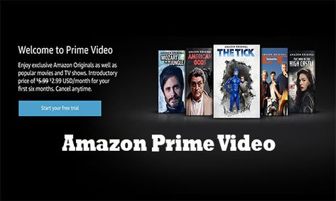 Amazon Prime Video How To Open Amazon Account Amazon Prime