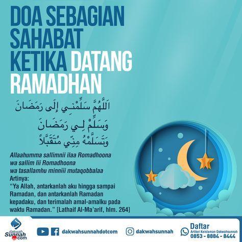 Doa Menyambut Ramadhan Dengan Gambar Motivasi Kata Kata Indah