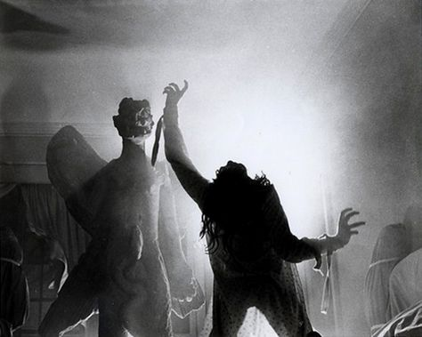 Eileen Dietz in a production still from The Exorcist.