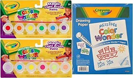 Crayola Color Magic Light Brush Paint Refill Classic Tropical