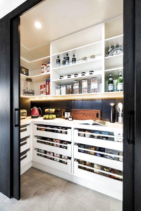 Le rangement de la cuisine rencontre le style avec les cuisines Rosemount - #cuisine #cuisines #rangement #rencontre #rosemount #style - #new