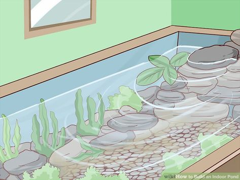 There is no better way to create a mini oasis in your home than by building your own pond.