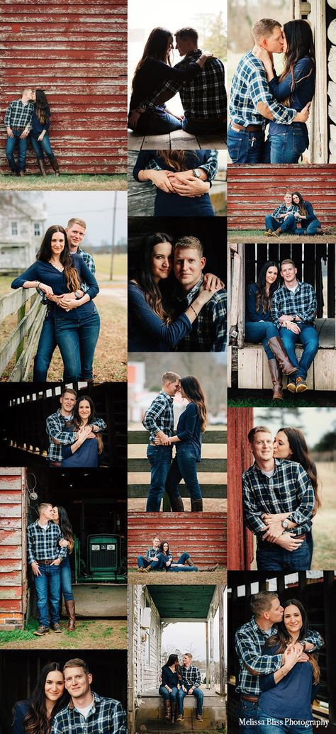 Rustic Engagement Session – Norfolk Photographer — Melissa Bliss Photography Looking for inspiration for engagement photos? This military couple had a beautiful rustic session in VA.