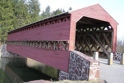 Sachs covered bridge, just east of Gettysburg, PA
