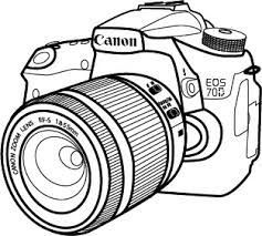 Image Result For Canon Camera Drawing Canoneos Camera Aesthetic Cameras Nikon Tatuagem