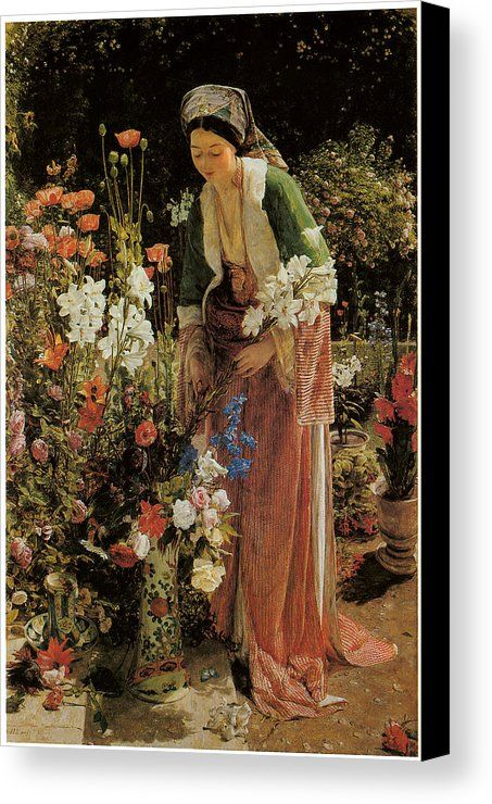 In The Bey S Garden Canvas Print Canvas Art By John