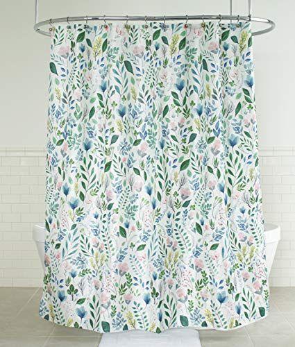 Splash Home 71siafl Fpmltspl Sia Floral Polyester Fabric Https Www Amazon Com Dp B07g Fabric Shower Curtains Floral Shower Curtains Cotton Shower Curtain
