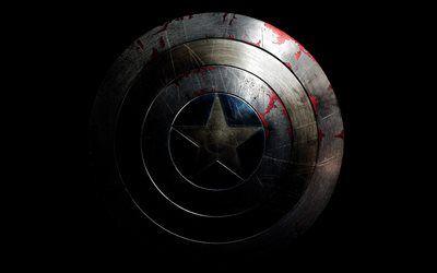 Télécharger Fonds D écran Bouclier En Métal Captain America