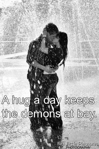 Hug Quotes For Him With Images Love Rain I Love Rain