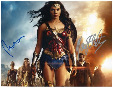 Signed Mounted Photo Display Justice League photo