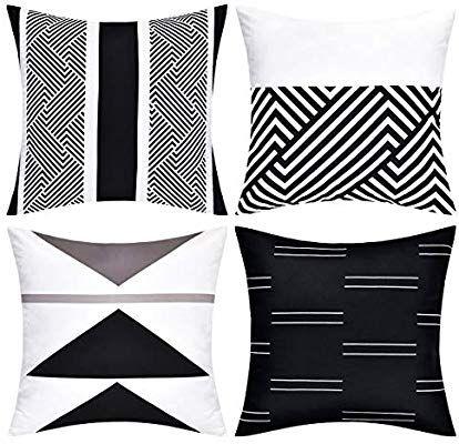 Amazon Com Yastouay Throw Pillow Covers Modern Geometric