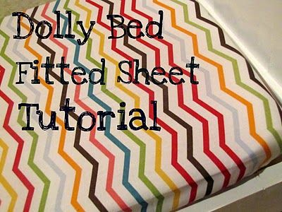Fitted Doll Sheet