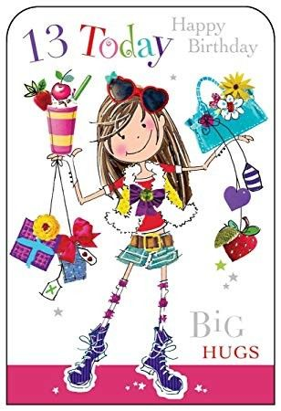 Pin By Judy Dix Lokken On Cards Wishes Happy 13th Birthday 13th Birthday Wishes Happy 12th Birthday