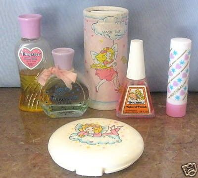 My very fist set up from avon as a child. I just thought it was pretty.