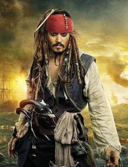 Jack Sparrow Johnny Depp Rock God Pirate Jack Sparrow