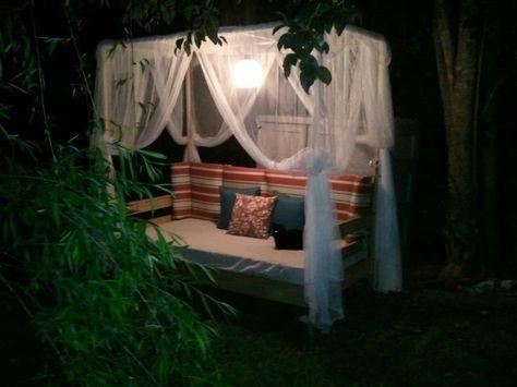 Outdoor Canopy-16 DIY Outdoor Furniture Pieces