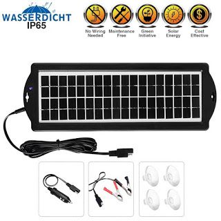 Features Benefits Solar Battery Charger Car 3 5w 12v Solar Trickle Charger For Car Battery Portab Car Battery Charger Solar Battery Charger Solar Battery