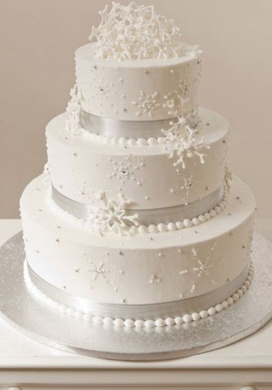 21 beautiful wedding cakes with winter touches for 2015 winter 21 beautiful wedding cakes with winter touches for 2015 winter weddings wedding cake and winter junglespirit Images