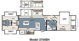 3 Bedroom Rv Floor Plan Rv Floor Plans Travel Trailer Floor Plans Tiny House Camper