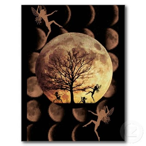 """MOON DANCE - POSTCARDS Keep in touch with Zazzle custom postcards! Add your favorite image to a blank postcard or say """"hi"""" with a pre-existing design. Save paper and mail a note without wasting envelopes! •No minimum order. •Get custom stamps to match!"""
