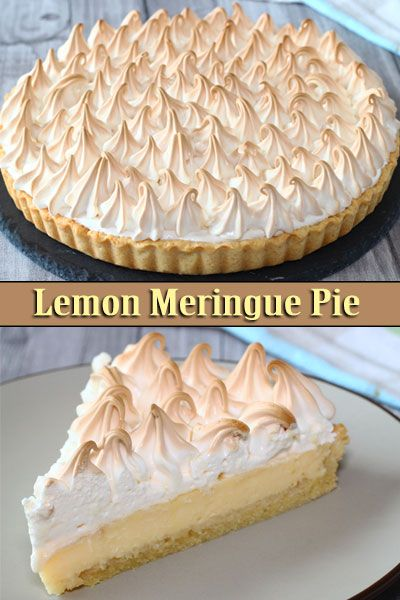 Lemon Meringue Pie El Mundo Eats Recipe Lemon Meringue Pie Easy Sweet Recipes Desserts Lemon Pie Recipe Condensed Milk