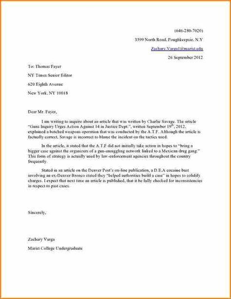 Image result for letter to editor format Formal Letters Pinterest - cook resumes