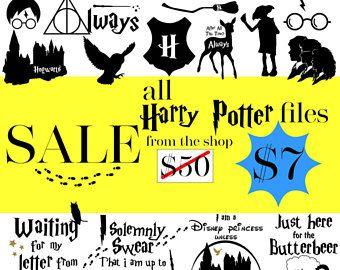 Harry Potter Svg Harry Potter Big Pack Of 87 Harry Potter Clipart Harry Potter Bundle Digital Download Svg Dxf Png Potte Lettering Harry Potter Clip Art