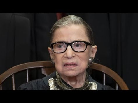 Ruth Bader Ginsburg's Days on Supreme Court Are Coming to an End!!! - YouTube
