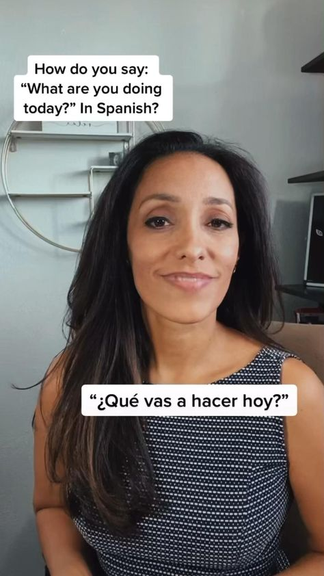 """Learn to say in Spanish: """"What are you doing today?"""" #spanish #learnspanish"""