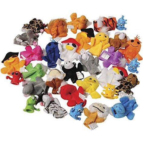 """8/"""" Plush HEART ZOO FARM Hand Puppets Birthday Party Favors PIG FROG BEAR 3"""