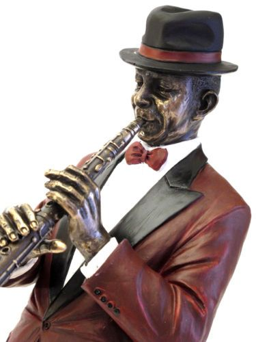 SO`VACHE Comic Kuh Trompete Jazz Musik Figur Sammlerfigur Band Orchester 20425