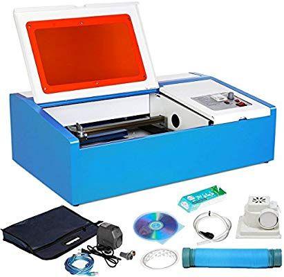 Zauberlu 40w Lasergravurmaschine Graviermaschine Mit Usb Anschluss Co2 Lasergravierer Laser Engraver Fur Leder Lasergravur Gravur Maschine Lasergravurmaschine