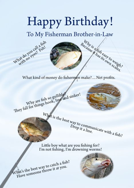 Fishing Jokes Birthday For Brother In Law Card Ad Ad Birthday Jokes Fishi Birthday Cards For Brother Birthday Cards For Boyfriend Cards For Boyfriend