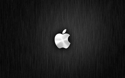 Download Wallpapers Apple 4k Metal Background Apple Logo Creative Besthqwallpapers Com Apple Logo Wallpaper Iphone Apple Ipad Wallpaper Apple Wallpaper Iphone