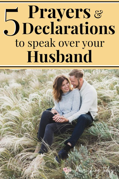 Do you find it difficult to pray for your husband? Here you'll find some sample prayers for your husband to help him to succeed in 5 key areas. #prayer #prayforyourhusband #marriage #marriagetips #strongmarriage #prayforyourspouse Godly Wife, Godly Marriage, Happy Marriage, Marriage Advice, Love And Marriage, Successful Marriage, Christian Wife, Christian Marriage, Christian Living