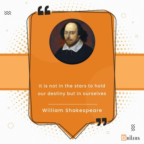 The outcome of our lives is based on our own actions instead of by fate or the stars. . . . #WilliamShakespeare #thursdayvibes #thursdaymood #thursday #quotes #quotesaboutlife #quotestoliveby #quotesdaily #motivationalquotes