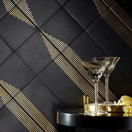 Kbis Paire Black Brass Gorgeous Bathroom Tile Restaurant Flooring Ann Sacks