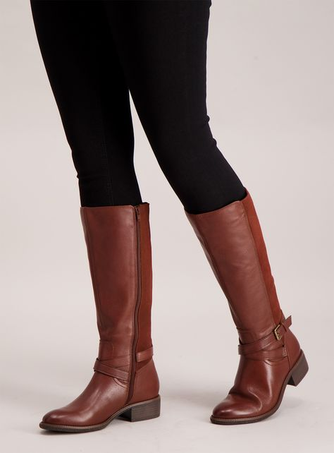 Riding boots, Wide calf boots