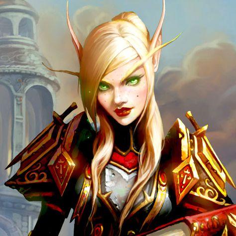 Blood Elf/High Elf (WoW)