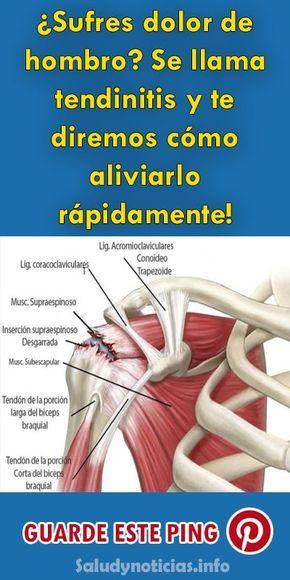 Remedios tendinitis hombro