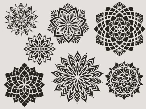 Dotwork mandala designs available to tattoo. Booking for Dead Slow, Brighton and AKA Berlin 5th-8th September. Email me at jonny_breeze@me.com if you
