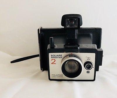 Polaroid Land Camera Square Shooter 2 With Manual And Strap Camera Polaroid Original Vintage Polaroid