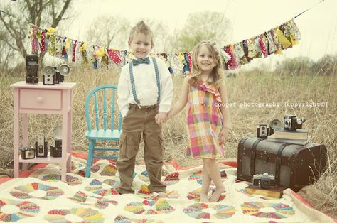 Styled Vintage Easter Photoshoot!...not this year, but cute details...