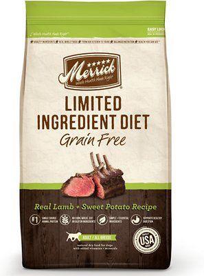 Merrick Limited Ingredient Diet Grain Free Real Lamb Sweet