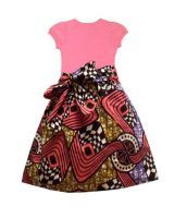 Mode Wax Enfant Fille Et Garcon En Wax Sur Sagnsefrance Com Mode Enfant Noir Robe Africaine Fillette Mode Fillette