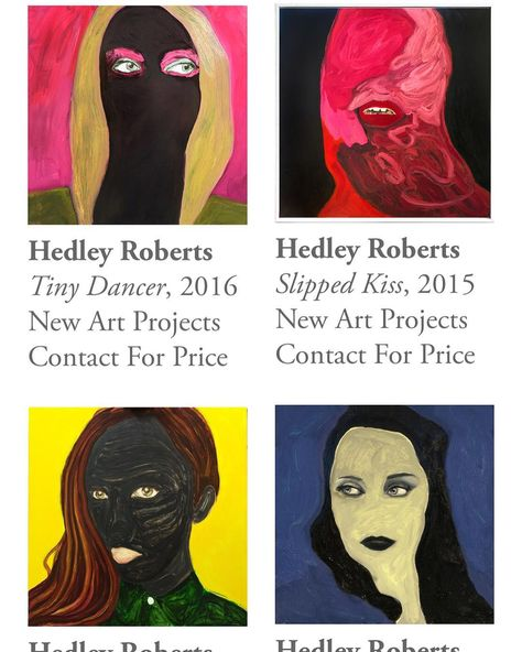 Hedley Roberts New Art Projects