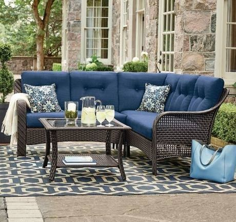 Walmart Ca Patio Furniture With Images Blue Patio Furniture