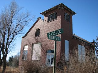 Dead Towns Of Kansas Mitchell Kansas A Rice County Ghost Town Ghost Towns Abandoned Cities Scary Houses